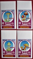 Senegal  1999  Mushrooms Pilze IMPERFORATED  4 V  MNH - Champignons