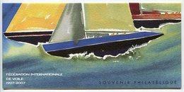 RC 8528 BLOC SOUVENIR N° 23 FÉDÉRATION DE VOILE 2007 NEUF ** - Souvenir Blocks