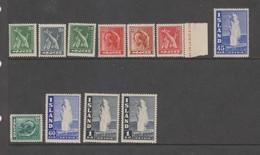 Yvert 189 / 198 * Neuf Charnière Série Complète - 1918-1944 Administration Autonome