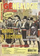 GENEALOGIE MAGAZINE - Maires & Electeurs - Ascendance De Robert Schuman - Album Des Castelbajac,... - PRIX TOP ! - Other