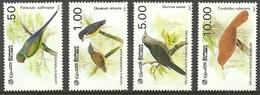 SRI LANKA 1987 BIRDS PARAKEET STARLING BABBLER FLOWERPECKER SET MNH - Sri Lanka (Ceylon) (1948-...)