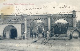 1097   OLD LUSIGNAN PALACE FAMAGUSTA. CYPRUS - Cyprus
