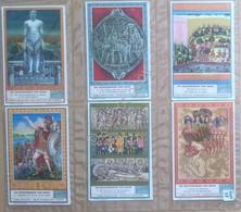Figurine Liebig - Germania - Sang. 1400 - Storia Dell'India - 12 Figurine - 1939 - Liebig