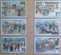 Figurine Liebig - Germania - Sang. 986 - Scene Di Carnevale - 1910 - Liebig