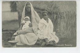AFRIQUE - SOMALIE - Somali Family - Somalia