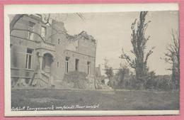 West-Vlaanderen - Flandre Occidentale - Carte Photo - Foto - LANGEMARK - Ruines - Guerre 14/18 - Carte N° 39 - Langemark-Poelkapelle