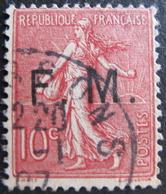LOT FD/1820 - 1906 - F.M. - N°4 - CàD - Franchise Stamps