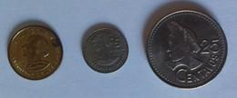 CENTAVO GUATEMALA - Lotto Di 3 Monete - Elenco All'interno - Guatemala