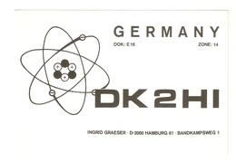 CT--02441-- CARTOLINA-GERMANIA- HAMBURG - 1975 - CB
