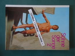 Söhne Der Sonne 2 - 64 Pages Photos Couleurs D'hommes Entièrement Nus, Male Nudes, Full Frontal Nudity Nackter Mann 1969 - Books, Magazines, Comics