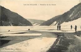 -dpts Div.-ref-YY734- Ain - Lac De Sylans - Recolte De La Glace - Metiers - Carte Bon Etat - - France