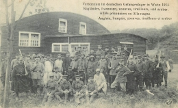CP VERBUNDETE IM DEUTSCHEN GEFANGENLAGER IN WAHN 1914 - Weltkrieg 1914-18