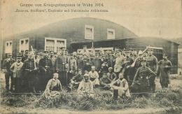 CP GRUPPE VON KRIEGSGEFANGENEN IN WAHN 1914 - Weltkrieg 1914-18