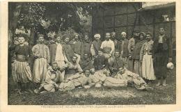 CP GEFANGENENLAGER IN WAHN BEI COLN FRANZOSISCHE KOLONIALTRUPPEN ZUAVEN GOUMIERS - Weltkrieg 1914-18