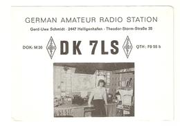CT--02443-- CARTOLINA-GERMAN AMATEUR RADIO STATION- HEILIGENHAFEN - 1974 - CB