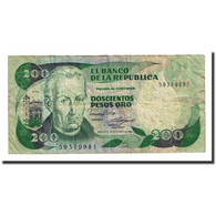 Billet, Colombie, 200 Pesos Oro, 1985-11-01, KM:429c, TB - Colombia
