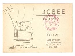CT--02444-- CARTOLINA-GERMANIA - DUDWEILER - 1976 - SNOOPY - CB