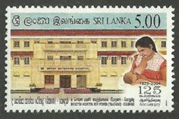 SRI LANKA 2004 MEDICAL DE SOYSA HOSPITAL BREAST FEEDING SET MNH - Sri Lanka (Ceylon) (1948-...)