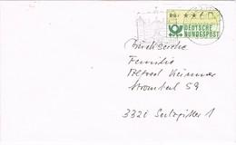 28309. Carta SALZGITTER (Alemania Federal) 1988.  Automaten Stamp - [7] República Federal