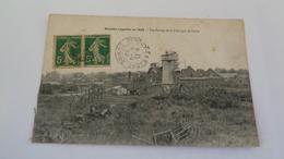 MONCHY -LAGACHE En 1920 : Les Ruines De La Fabrique De Sucre - Moislains