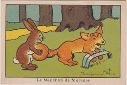 Chromo  Scolaire  Benjamin Rabier Le Manchon De Fourrure - Altri