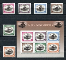 PAPUA NEW GUINEA 2002 Mi # 925 - 930 + Bl 21 100 Years Of The First Stamp MNH - Papua Nuova Guinea