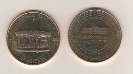 Médaille Touristique - Monnaie De Paris 35 Lanhélin / Cobac-Parc , Manège 1900 Année 2018 - Monnaie De Paris