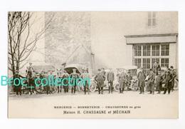 Montluçon, Maison H. Chassagne Et Méchain, Mercerie, Bonneterie, Chaussures En Gros, 1, Rue Notre-Dame, Automobiles - Montlucon