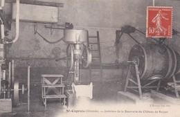 SAINT CAPRAIS - INTERIEUR DE LA BEURRERIE DU CHATEAU DE SAUJAN - 33 - Autres Communes