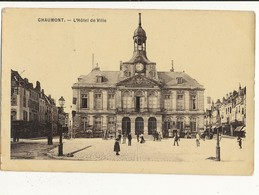 52 CHAUMONT L HOTEL DE VILLE CPA BON ETAT - Chaumont