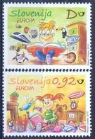 SI 2010-850-1 EUROPA CEPT, SLOVENIA, 1 X 2v, MNH - Slowenien