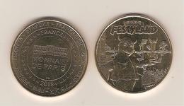 Médaille Touristique - Monnaie De Paris 14 Bretteville Sur Odon, Parc Festyland -  Année 2018 - Monnaie De Paris
