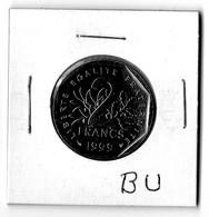 Très Belle Pièce 2 Francs 1999 BU SEULEMENT 25.500 Pièces Cotée 30€ - France