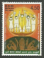 SRI LANKA 2003 MEDICAL ANTI NARCOTIC WEEK DRUGS SET MNH - Sri Lanka (Ceylon) (1948-...)