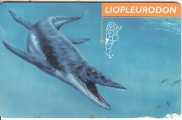 ARGENTINA(chip) - Liopleurodon, Telefonica Telecard(F 141), 12/98, Used - Argentina