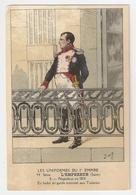 Illustrateur Job. Les Uniformes De L'Empire. L'Empereur Napoléon En 1814 Aux Tuileries (1185) - Storia