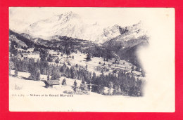E-Suisse-790Ph49  Villars Et Le Grand Muveran, Cpa Précurseur - VD Vaud