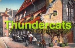 CPA DIE ENTWICKLUNGSGESCHICHTE DES BILDDRUCKES WELTAUSSTELLUNG FUR BUCHGEWERBE UND GRAPHIK LEIPZIG 1914 EXPOSITION CAFE - Leipzig