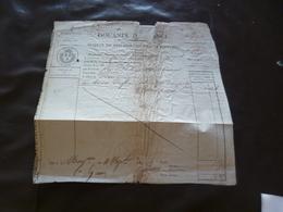 Acquit Paiement Douanes De France Sr Reynaud Guadeloupe Taffia Rhum 1811 En L'état - Alimentaire