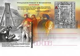 Poland 2018 - Millennium Of Peace Of Budziszyn 1018-2018(2018; Nr Kat.:1800) Stationery Postcard Mnh - 1944-.... Republiek