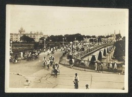India Afzulgunj Bridge Black & White Photography Picture Photo Card Size 8 1/2 X 6 Cm - India