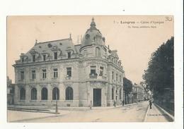 52 LANGRES CAISSE D EPARGNE CPA BON ETAT - Langres