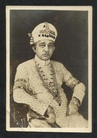 India Princes Salar Jung III  Black & White Photography Picture Photo Card Size 8 1/2 X 6 Cm - India