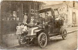 Carte Photo Non Localisée - Immatriculée : 1946 G 7  (Renault 1910 ?)  (104813) - Taxi & Carrozzelle