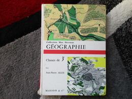"""Géographie """"Classe De 3e"""" (Jean-Pierre Allix) éditions Masson & Cie De 1964 - Books, Magazines, Comics"""
