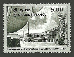 SRI LANKA 2013 MATTALA RAJAPAKSA AIRPORT AIRCRAFT SET MNH - Sri Lanka (Ceylon) (1948-...)