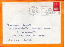 MANCHE, Le Mont St Michel, Flamme SCOTEM N° 2274 - Mechanical Postmarks (Advertisement)
