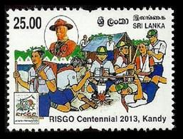 SRI LANKA 2013 SCOUTS SCOUTING RISGO MEDICCAL FIRST AID SET MNH - Sri Lanka (Ceylon) (1948-...)
