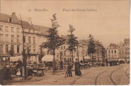 Grand Sablon - Marktpleinen, Pleinen