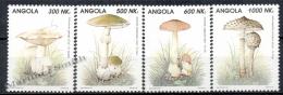 Angola 1993 Yvert 911-14 Mushrooms - MNH - Angola